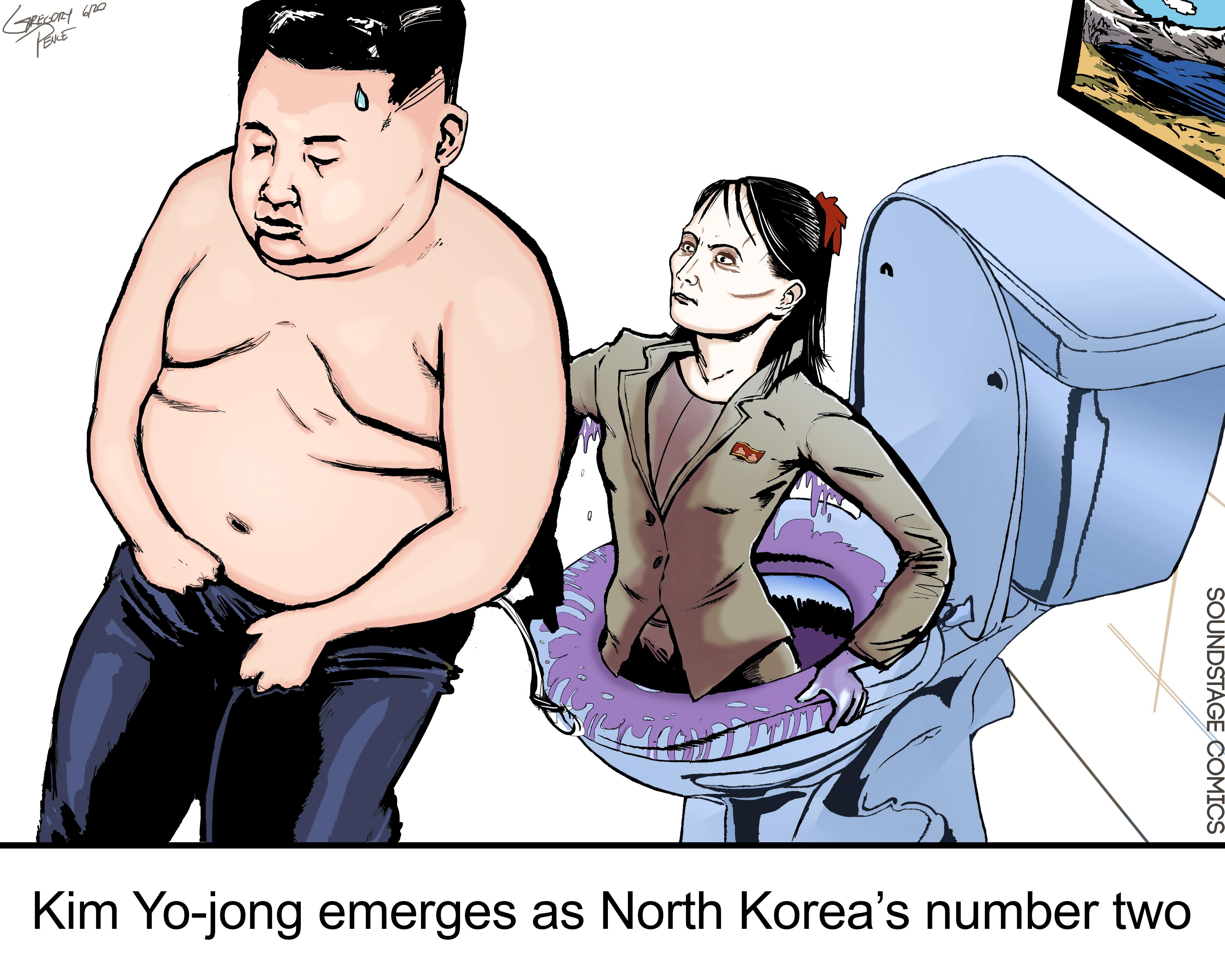 Kim Jong Un, Kim Yo Jong, North Korea